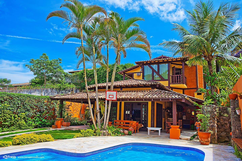 Casa para locação em Ilhabela com piscina