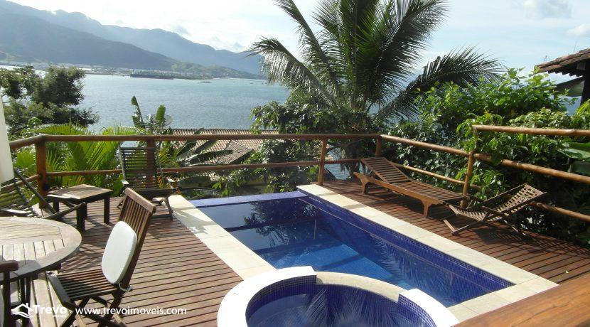 Casa charmosa com vista para o mar22