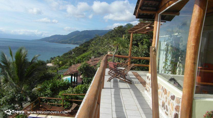 Casa charmosa com vista para o mar8