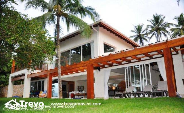 Casa de luxo frente ao mar em Ilhabela