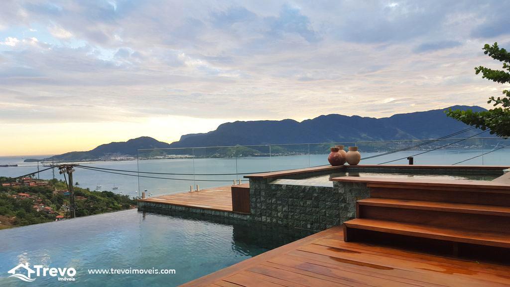 Casa de luxuosa com vista para o mar em Ilhabela